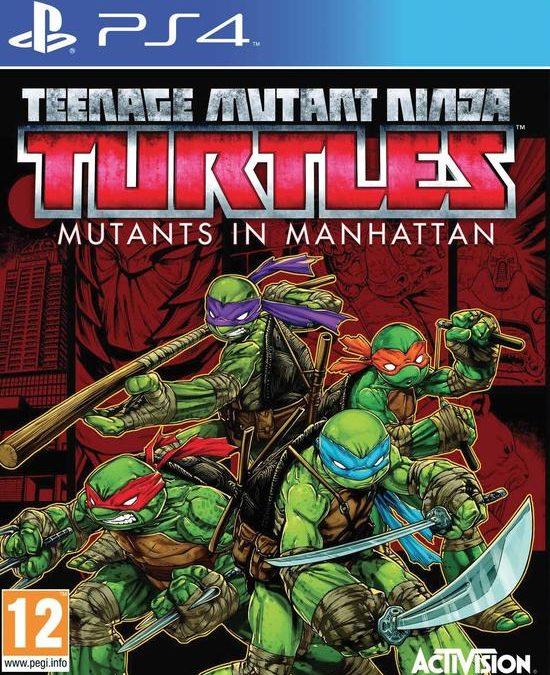 T.M.N.T. Mutanti a Manhattan PS4